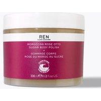 M&S Ren Moroccan Rose Otto Sugar Body Polish 330ml - 1SIZE