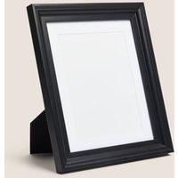 M&S Heritage Wood Photo Frame 8x10 inch - Black, Black