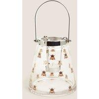 M&S Glass Bee Medium Lantern - 1SIZE - Multi, Multi