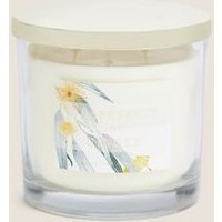M&S Signature Grapefruit & Ginger 3 Wick Candle - 1SIZE - Yellow, Yellow