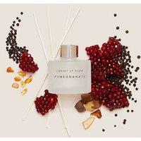 M&S Library Of Scent Pomegranate 100ml Diffuser - 1SIZE - White Mix, White Mix