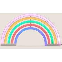M&S Neon Rainbow Mains Light - 1SIZE - Multi, Multi