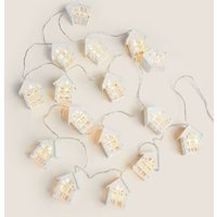 M&S Townhouse Battery Lights - 1SIZE - Silver, Silver