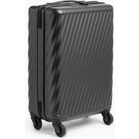 MandS Porto 4 Wheel Hard Shell Cabin Suitcase - 1SIZE - Black, Black,Navy