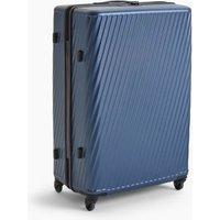 MandS Porto 4 Wheel Hard Shell Large Suitcase - 1SIZE - Navy, Navy,Black