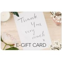 M&S Thank You Note E-Gift Card - 50