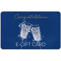 M&S Congratulations Glasses E-Gift Card - 30