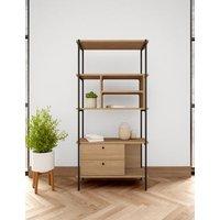 M&S Austin Bookcase - 1SIZE - Oak, Oak