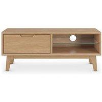 M&S Nord TV Unit - 1SIZE - Walnut, Walnut