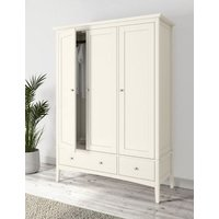 MandS Hastings Triple Wardrobe - 1SIZE - Ivory, Ivory