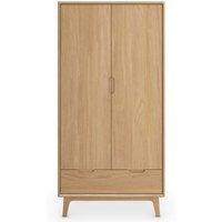 MandS Nord Double Wardrobe - 1SIZE - Oak, Oak