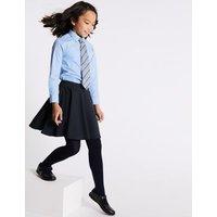M&S Girls Girls' Skater School Skirt (2-16 Yrs) - 13-14 - Grey, Grey