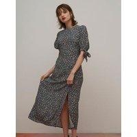 M&S Nobody'S Child Womens Floral Midaxi Tea Dress - 10 - Multi, Multi