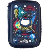 M&S Smiggle Girls Boys Unisex Kids' Astronaut Hard Top Pencil Case (3+ Yrs) - 1SIZE - Navy Mix, Navy