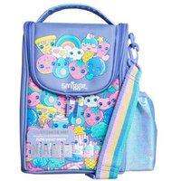 M&S Smiggle Girls Boys Unisex Kids' Lil' Mates Fruit Lunch Box (3+ Yrs) - 1SIZE - Lilac Mix, Lilac M