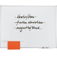 FRANKEN Whiteboard X-tra!Line® 100,0 x 75,0 cm emaillierter Stahl