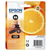 Epson 33 Orange Photo Ink Cartridge XL Black, Black (463984)