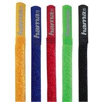 Hama Bandes d'attaches autoagrippantes, 215 mm, colorées (20535)
