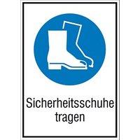 SafetyMarking® Gebotsaufkleber - Sicherheitsschuhe tragen