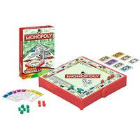 Hasbro MONOPOLY-Kompakt Brettspiel