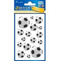 48 AVERY Zweckform Aufkleber 53708 Fussball