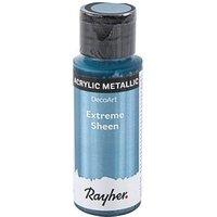 Rayher Extreme Sheen Acrylfarben metallic blaugrau 59,0 ml, 1 St.