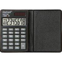 Rebell SHC108 Taschenrechner schwarz/grau