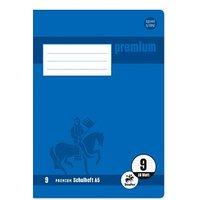 Staufen® Schulheft Premium Lineatur 9 liniert Außenrand