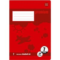 Staufen® Schulheft Premium Lineatur 7 kariert ohne Rand
