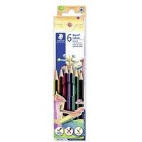 6 STAEDTLER Noris® colour 185 Buntstifte farbsortiert