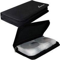 MediaRange 48er CD-/DVD-Tasche schwarz