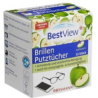 Best View   Brillenputztücher 52 Tücher