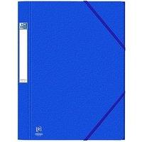 OXFORD Eckspanner EUROFOLIO Prestige DIN A4 blau