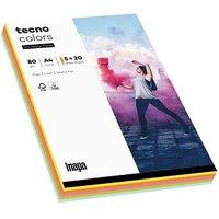 tecno Kopierpapier colors Mixpack farbsortiert DIN A4 80 g/qm 100 Blatt