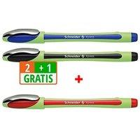 2+1 GRATIS: 2 Schneider Xpress Fineliner farbsortiert 0,8 mm + GRATIS 1 Fineliner Xpress rot