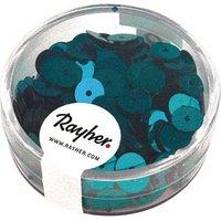 Rayher Streu-Pailletten glatt 6 mm jade 1 Pack