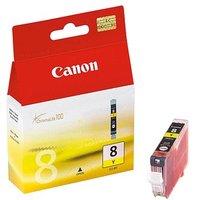Original Canon CLI-8Y Yellow Ink Cartridge (0623B001)