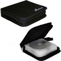 MediaRange 24er CD-/DVD-Tasche schwarz