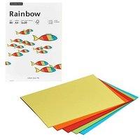 Rainbow Kopierpapier COLOR MIXPACK farbsortiert DIN A4 80 g/qm 100 Blatt