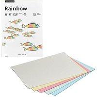 Aktionspack: Rainbow Kopierpapier COLOR MIXPACK farbsortiert DIN A4 80 g/qm 5x 20 Blatt