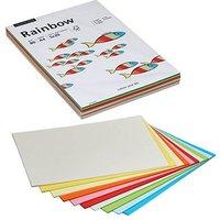 Rainbow Kopierpapier COLOR MIXPACK farbsortiert DIN A4 80 g/qm 10x 20 Blatt