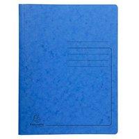 Exacompta Spiralhefter Karton blau DIN A4