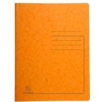 Exacompta Spiralhefter Karton orange DIN A4
