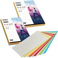 tecno Kopierpapier colors Mixpack farbsortiert DIN A4 80 g/qm 10x 20 Blatt
