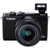 Canon EOS M100 EF-M 15-45 mm Objektiv Systemkamera