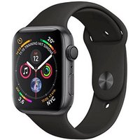 Apple Watch Serie 4 40mm GPS space gray Aluminum Black Sport Band Smartwatch