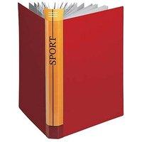 FolderSys® Sichtbuch bordeaux mit 10 Hüllen