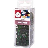 Rayher Mosaiksteine Tiffany Glas grün 1,0 cm 1 Pack