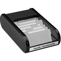 helit Visitenkartenbox schwarz/schwarz