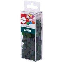 Rayher Mosaiksteine Acryl transparent jade 1,0 x 1,0 cm 1 Pack